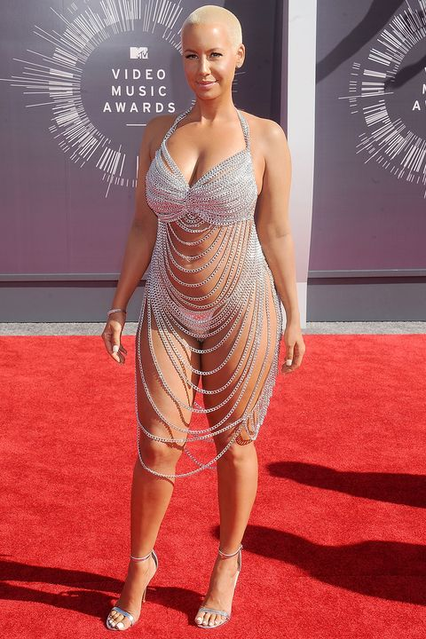 The Evolution of the Naked Dress - Celebs in Sheer, See