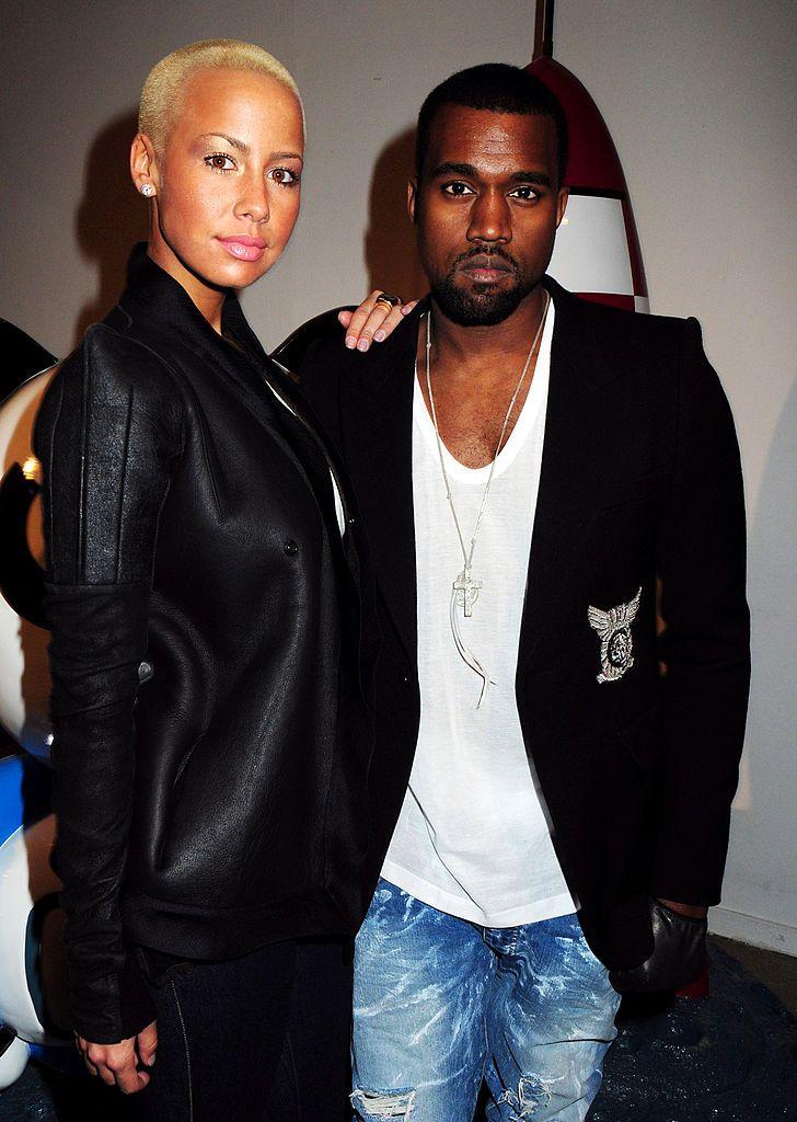 Amber Rose just spoke out against ex Kanye West