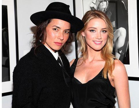 Tasya Van Ree y Amber Heard