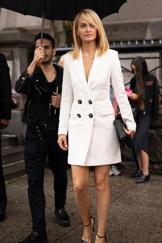 Vestidos blancos moda 2018