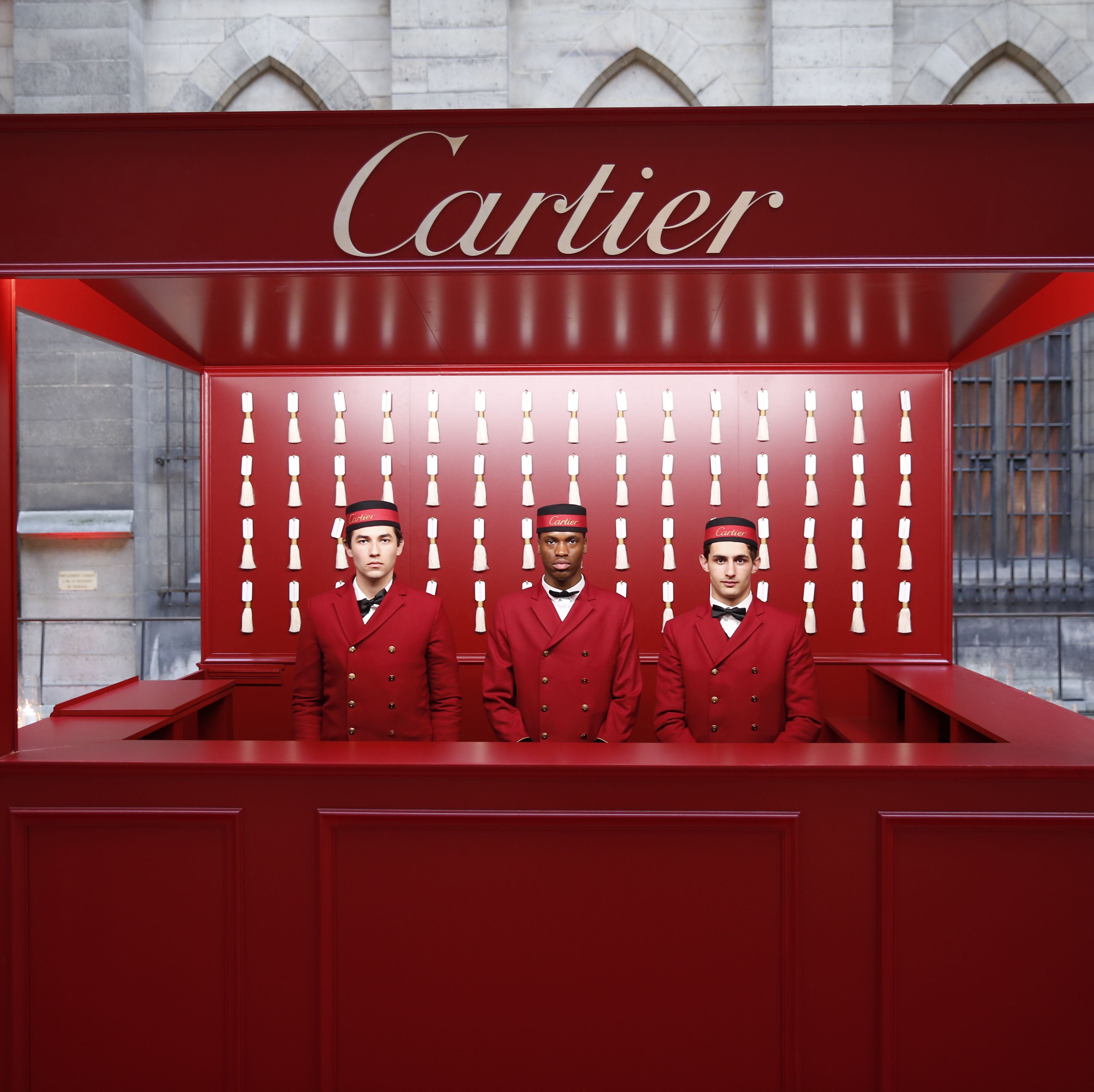 It was a glamorous affair on Wednesday evening as guests entered the iron gates of La Conceirgerie in Paris to celebrate the launch of Cartier's new collection, Clash de Cartier . The start-studded guest list included Claire Foy, Jake Gyllenhaal, Sofia Coppola, Lucy Boynton, and Tilda Swinton, who mingled under archways and gilded candelabras before enjoying dinner and surprise performances by L'Impératrice and Billy Idol.