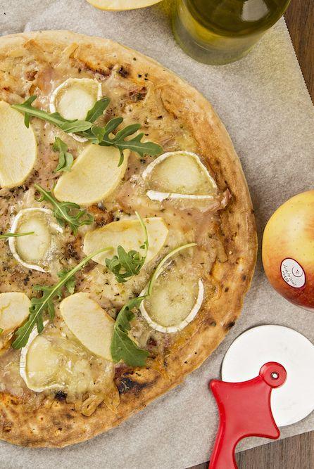 Pizza de manzana