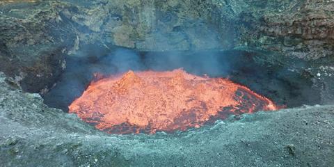 Volcanic landform, Geological phenomenon, Liquid, Geology, Fissure vent, Volcanic field, Volcano, Volcanic crater, Lava, Impact crater,