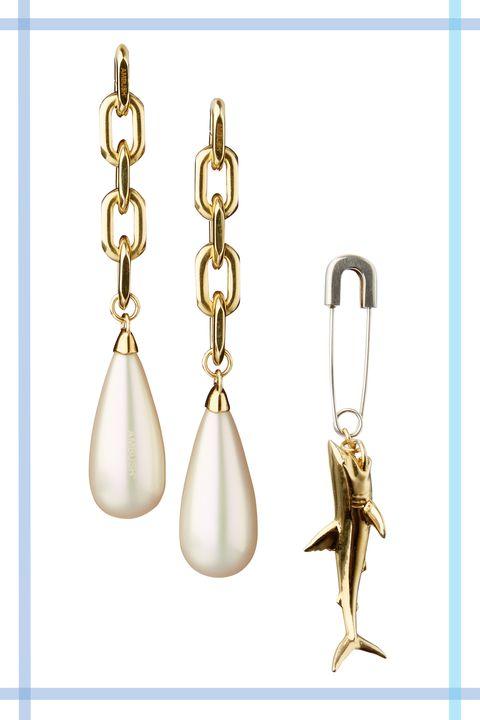 Earrings, Fashion accessory, Jewellery, Metal,