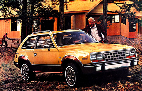Land vehicle, Vehicle, Car, Amc eagle, Amc spirit, Classic car, Sedan, Subcompact car, Coupé, Mercury lynx,