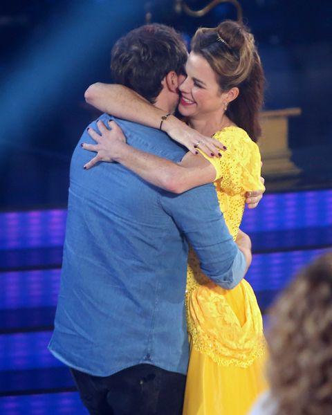 Amelia Bono y Manuel Martos Bailando con las estrellas