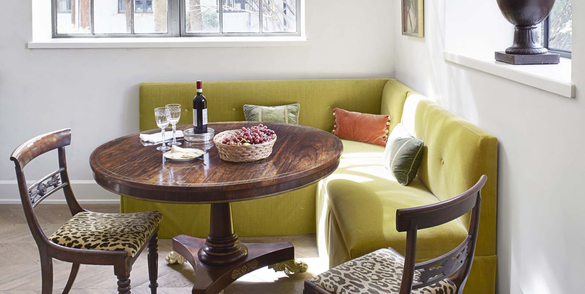 13 Plush Banquette Seating Ideas That Are Just As Cozy As They Are Chic