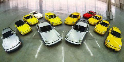 Vehicle, Motor vehicle, Car, Yellow, Mode of transport, Model car, City car, Toy vehicle, Parking lot, Matra 530,