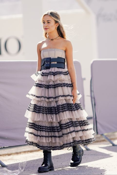 street style  paris fashion week womenswear springsummer 2019  day one