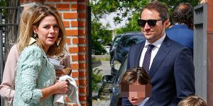 Amelia Bono y Manuel Martos celebran la Primera Comunión de su hijo Jorge