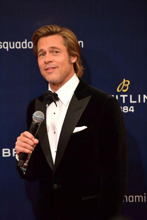 Brad Pitt Pekin Breitling Squadona