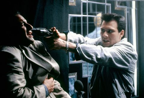 On the set of True Romance