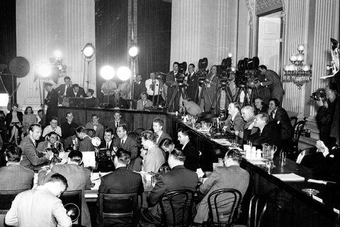 Gary Cooper At HUAC Hearings