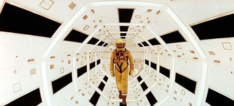 on the set of 2001 a space odyssey