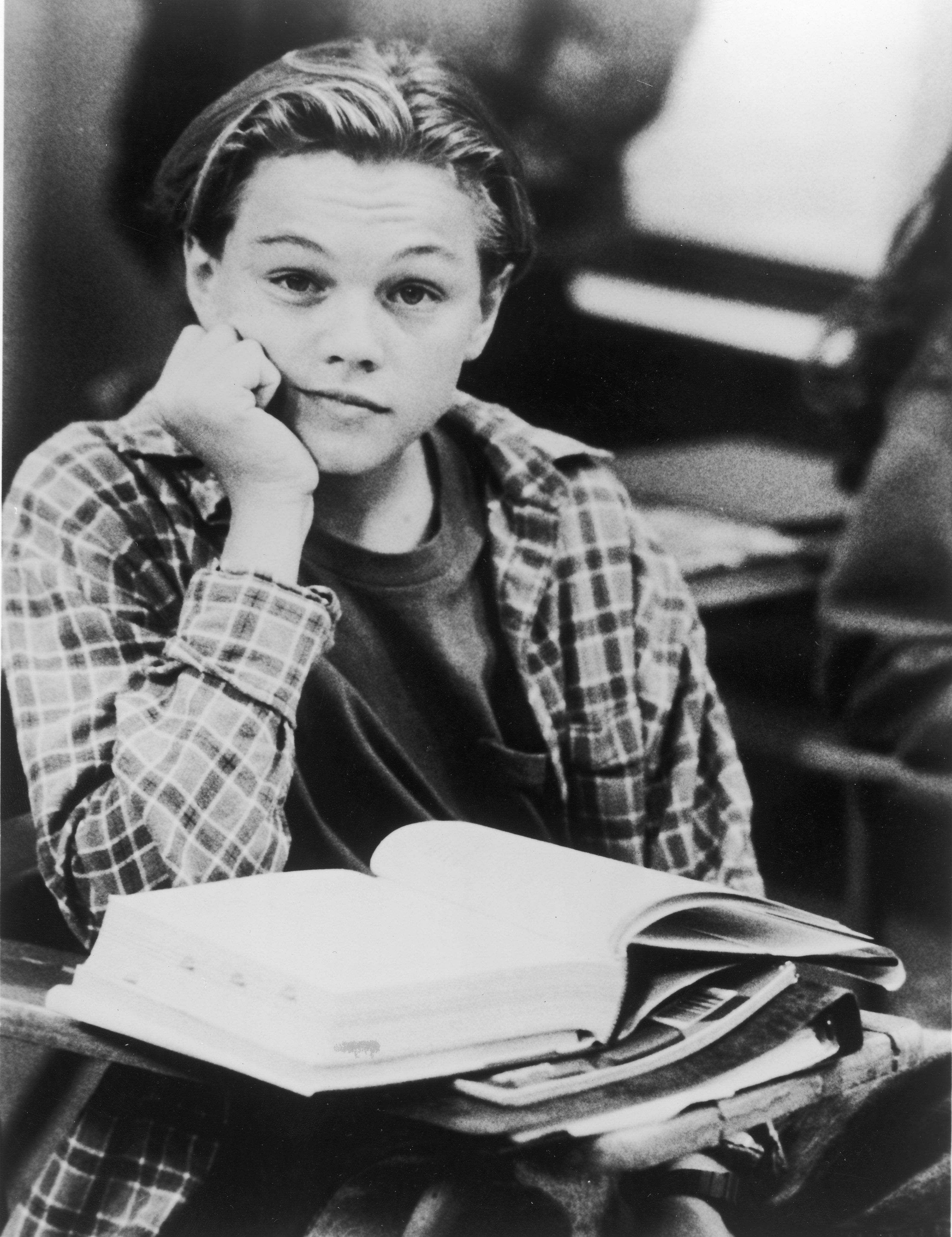DiCaprio In Classroom From 'Growing Pains,' c. 1991.