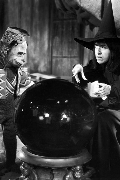 Wicked Witch & Monkey In 'Wizard Of Oz'