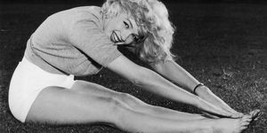 workout regime Marilyn Monroe