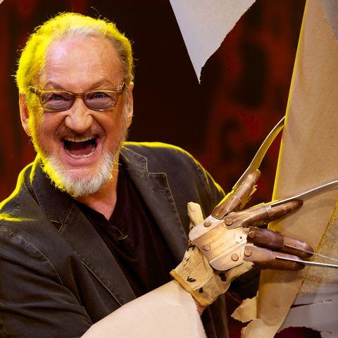robert englund attends 'el hormiguero' tv show