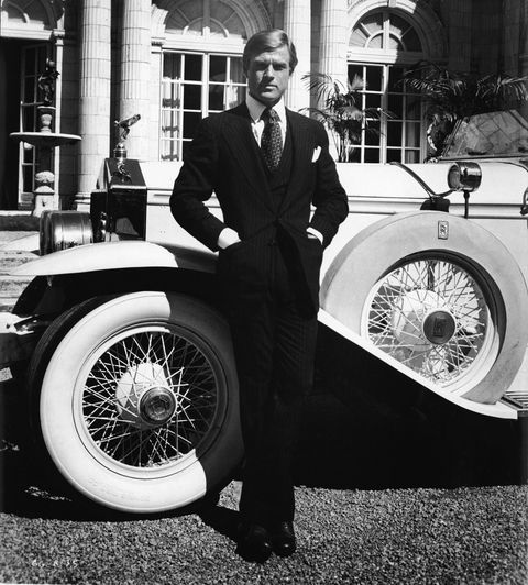 Robert Redford As 'The Great Gatsby'