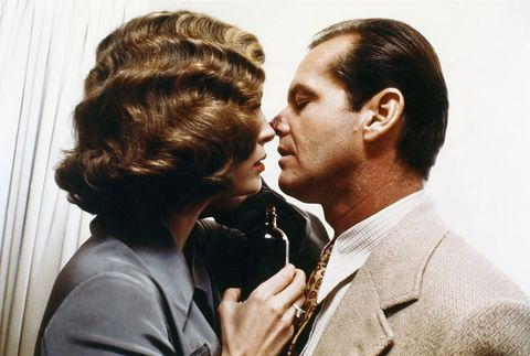 Jack Nicholson y Faye Dunaway en Chinatown