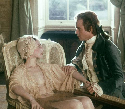 On the set of Barry Lyndon