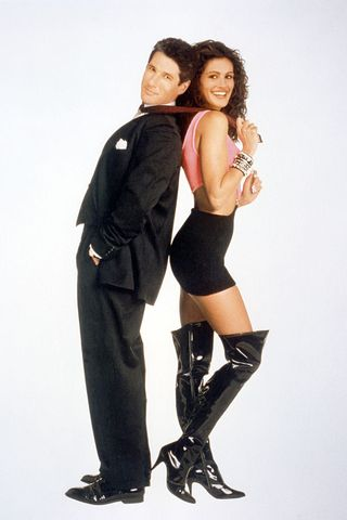 on the set of pretty woman