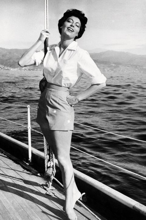 Ava Gardner At Sea