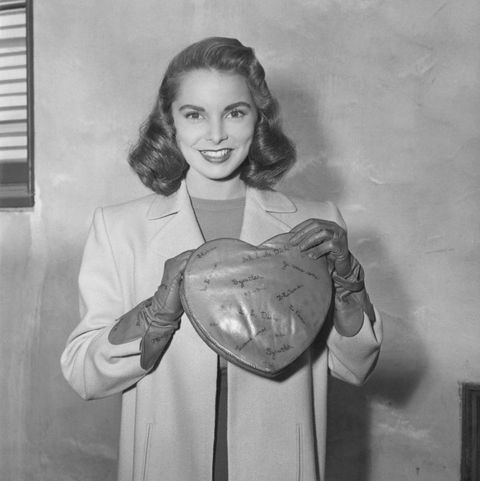 old hollywood stars before they were famous janet leigh