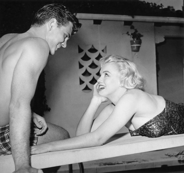 marilyn at the pool