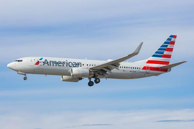 american airlines boeing 737 800