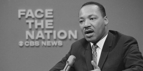 Martin Luther King Jr. On 'Face The Nation'