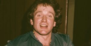 Robin Williams At Beverly Hills High