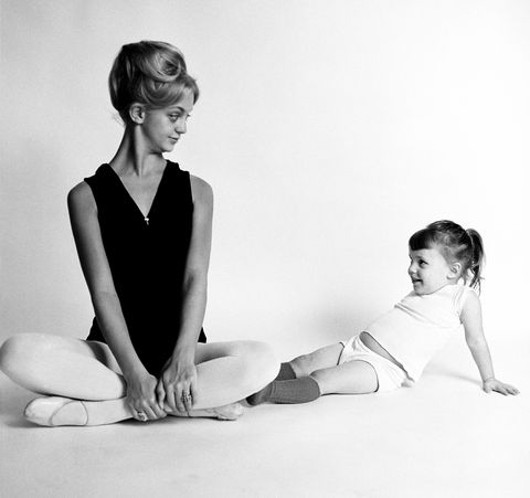 Goldie Hawn With Dance Student
