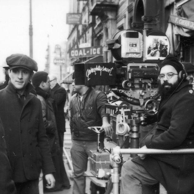 Coppola on the set of