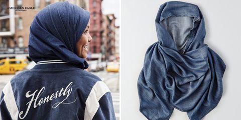 Hoodie, Clothing, Outerwear, Blue, Denim, Jeans, Hood, Textile, Headgear, Jacket,