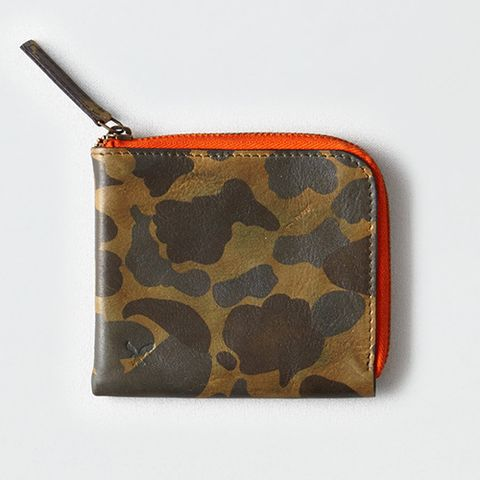 American Eagle Outfitters Leather Zipper Wallet