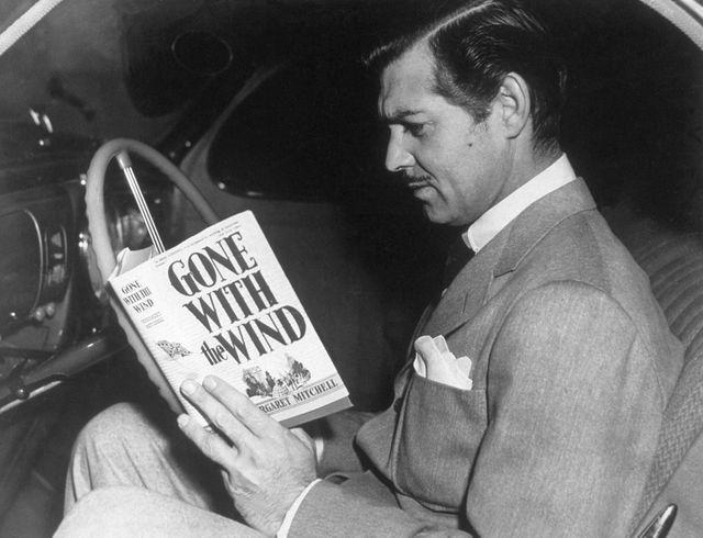 clark gable reading