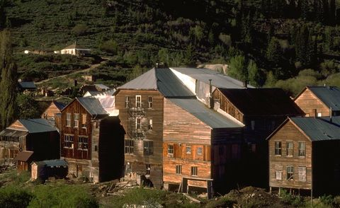 ghost towns   silver city, california