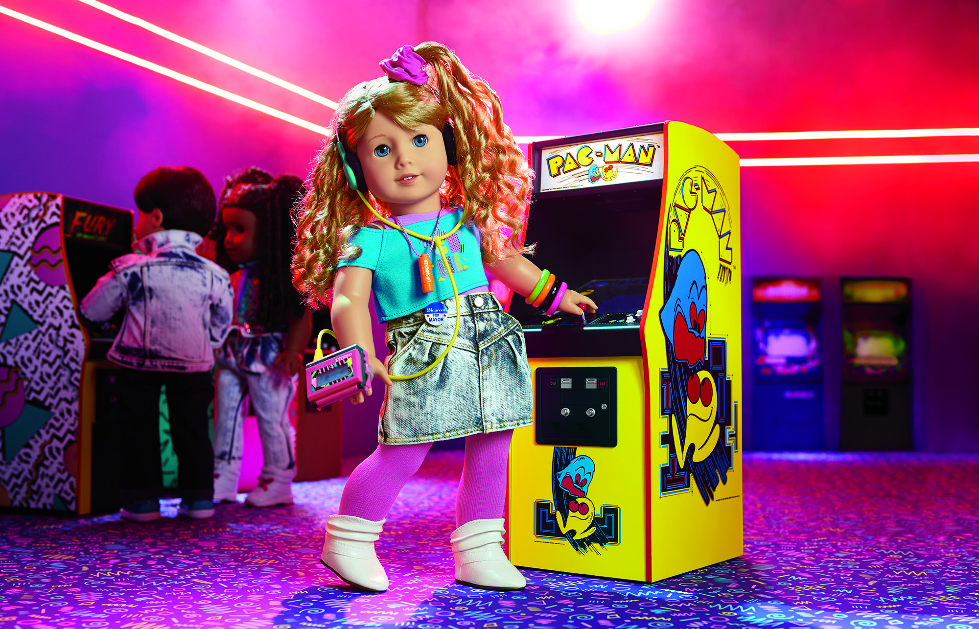 The New Historical American Girl Doll Is Courtney From The 1980s