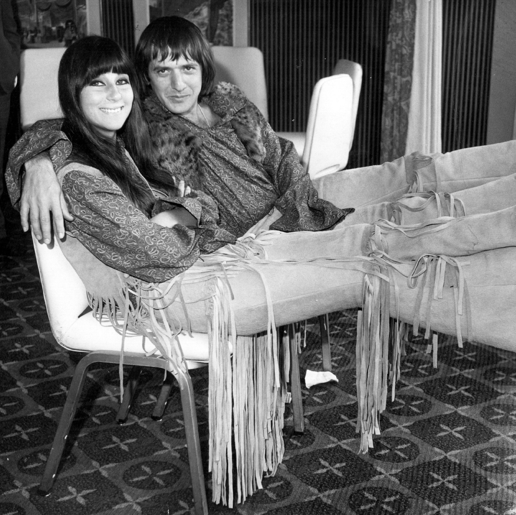 Cher and Sonny Bono Sonny and Cher were a singing powerhouse in the '60s and '70s, selling 40 million records and making several hit TV shows together. But their career as a rockstar duo came to a halt in 1975 with their divorce.
