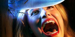Poster oficial de American Horror Story 1984