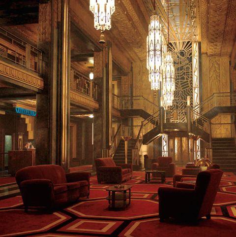 American Horror Story Hotel Cortez Hotel Cecil