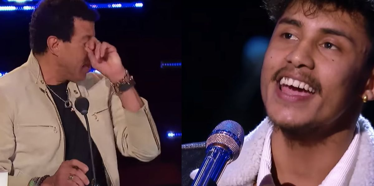 Lionel Richie Apologizes After Crying During Arthur Gunn's Moving 'American Idol' Solo