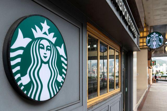 american multinational chain starbucks coffee store seen in