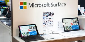 American multinational technology company Microsoft laptops...