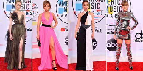 4f7a9a3d71 Los mejores looks de los American Music Awards 2018 - Los vestidos ...