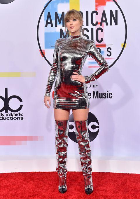 american music awards 2018 red carpet