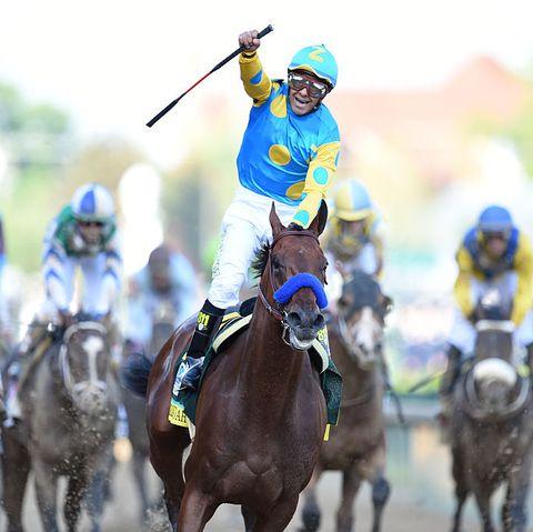 Kentucky Derby winner American Pharoah