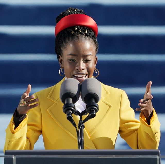 What Poet Laureate Amanda Gorman Wore to the Biden-Harris Presidential Inauguration