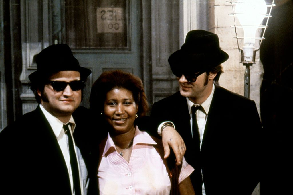 Aretha Franklin s Only Movie Role Was in 1980 s  The Blues Brothers ... 6b9d74f2fee3
